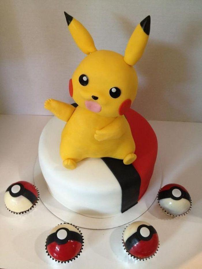 Connu Gâteau Pokémon Pikachu - Quand les gâteaux Pokémon envahissent nos  BS95