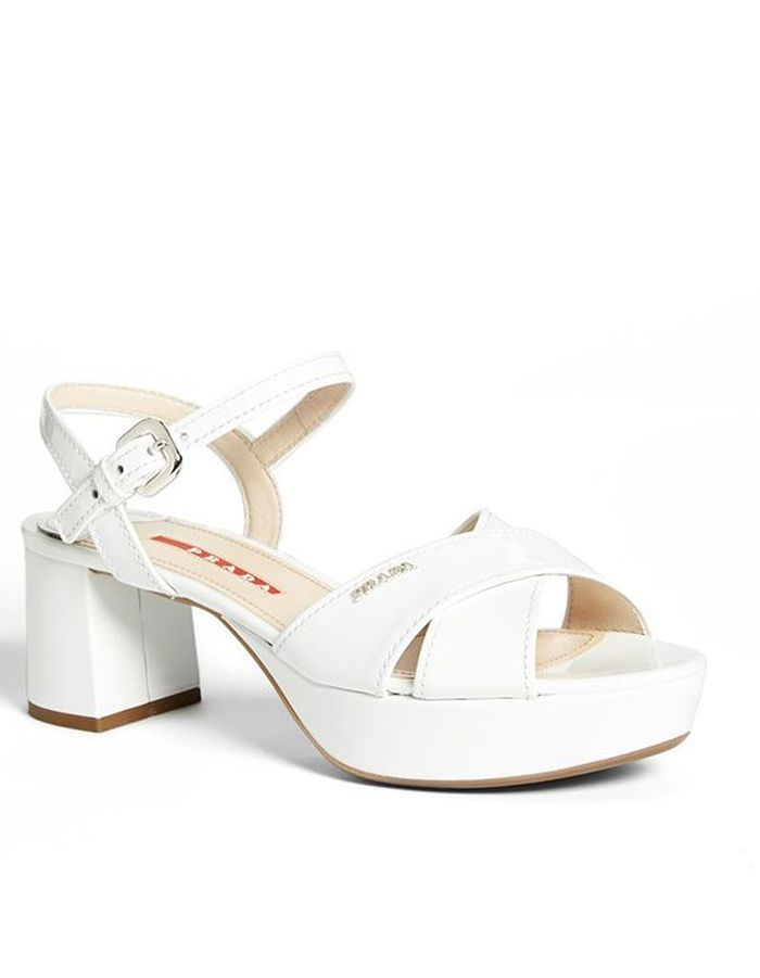 Sandales à plateformePrada 2QcjP