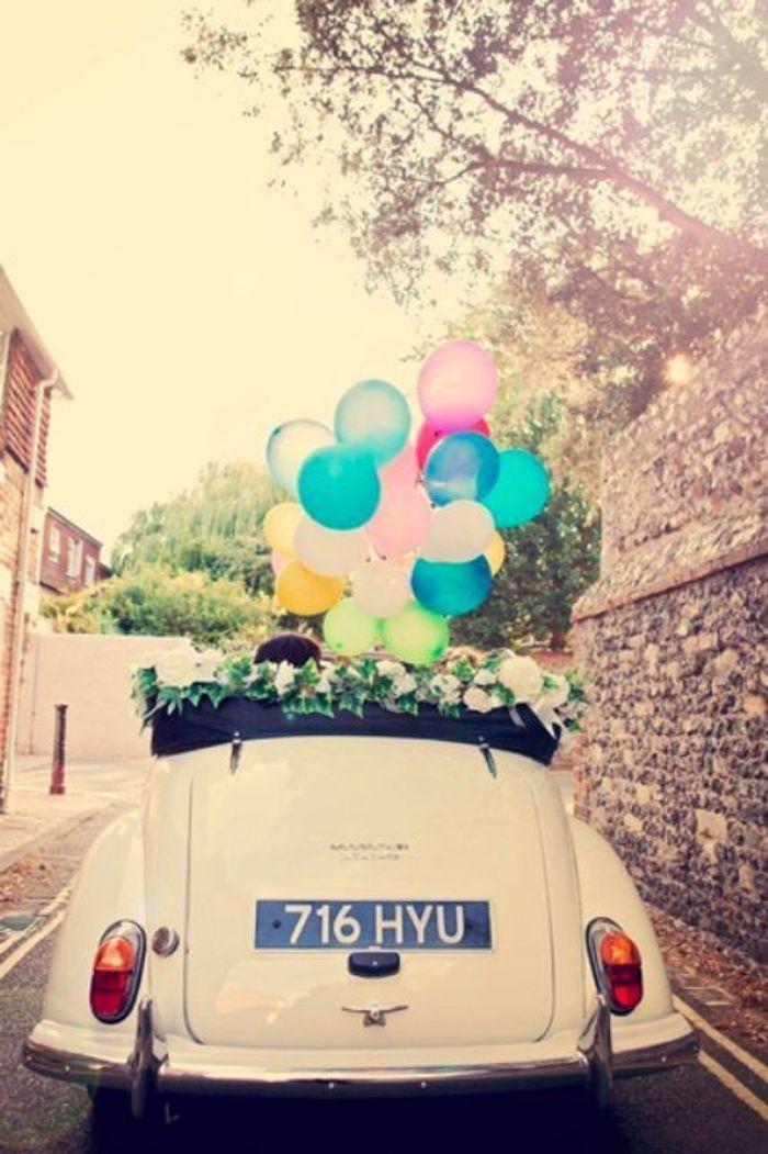 Populaire Décoration voiture mariage cabriolet - 10 jolies façons de décorer  OM96