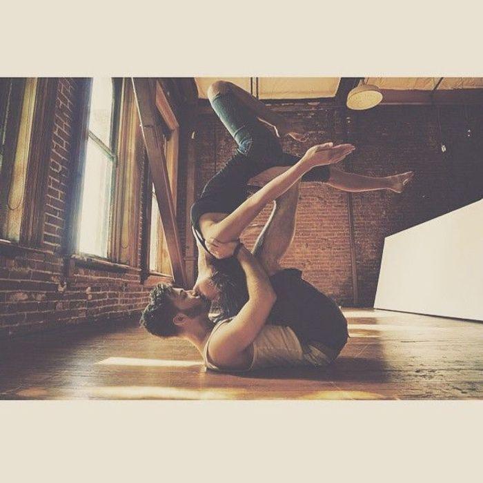 Häufig Position yoga à deux - Yoga en couple : les plus jolies photos  PL46