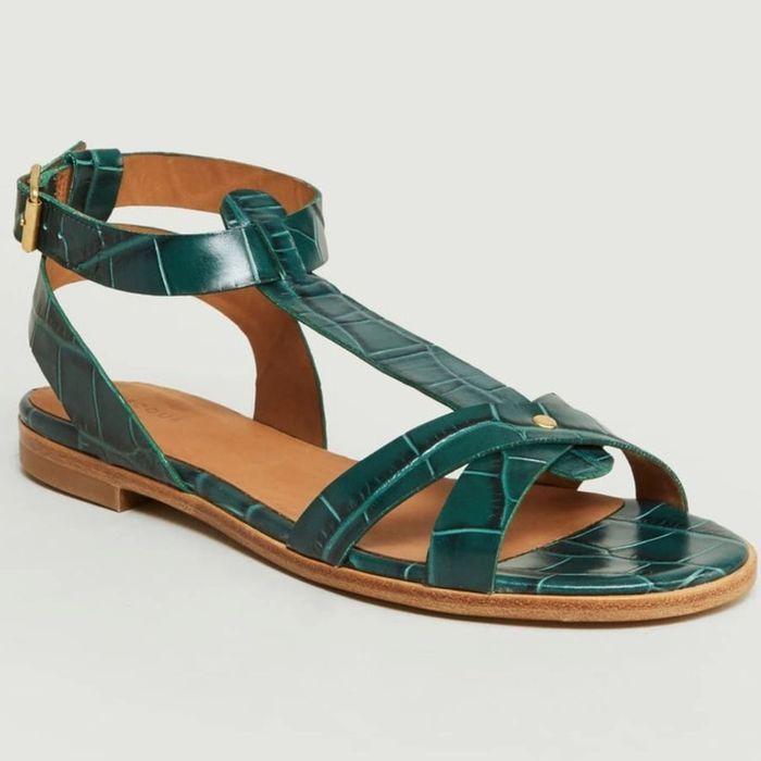 Sandales Vertes Rejouent lUfYp