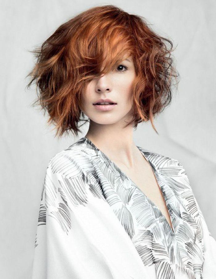 Le carr flou de laetitia guenaou coiffures de saison nos id es pour s 39 inspirer elle - Carre flou court ...