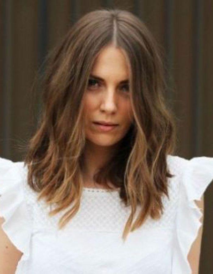 Un wavy sur carr long cheveux wavy les 30 plus belles - Carre mi long droit ...