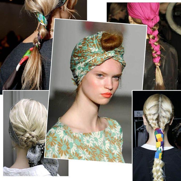 Coiffure avec un foulard : 20 idées pour s'inspirer
