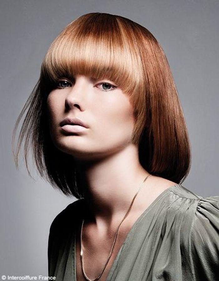 beaute tendance cheveux coiffure intercoiffure france 0297 100 coiffures automne hiver 2011. Black Bedroom Furniture Sets. Home Design Ideas