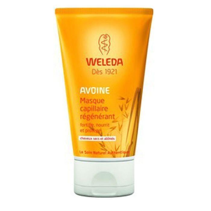 masque capillaire r g n rant l 39 avoine weleda soleil 10 soins r parateurs pour les cheveux. Black Bedroom Furniture Sets. Home Design Ideas