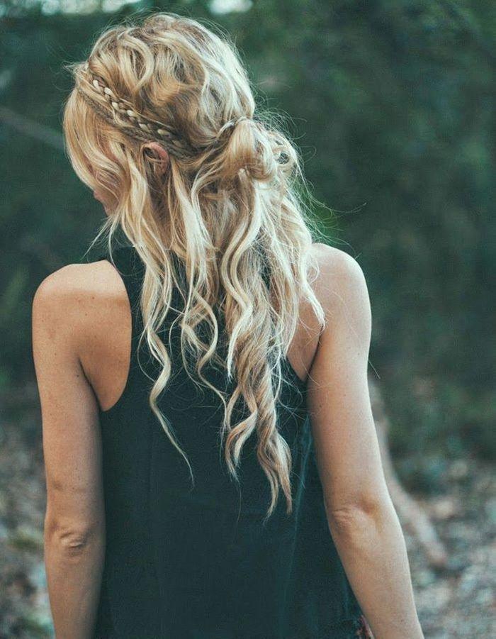 coiffure cheveux boucl s fris s automne hiver 2016. Black Bedroom Furniture Sets. Home Design Ideas