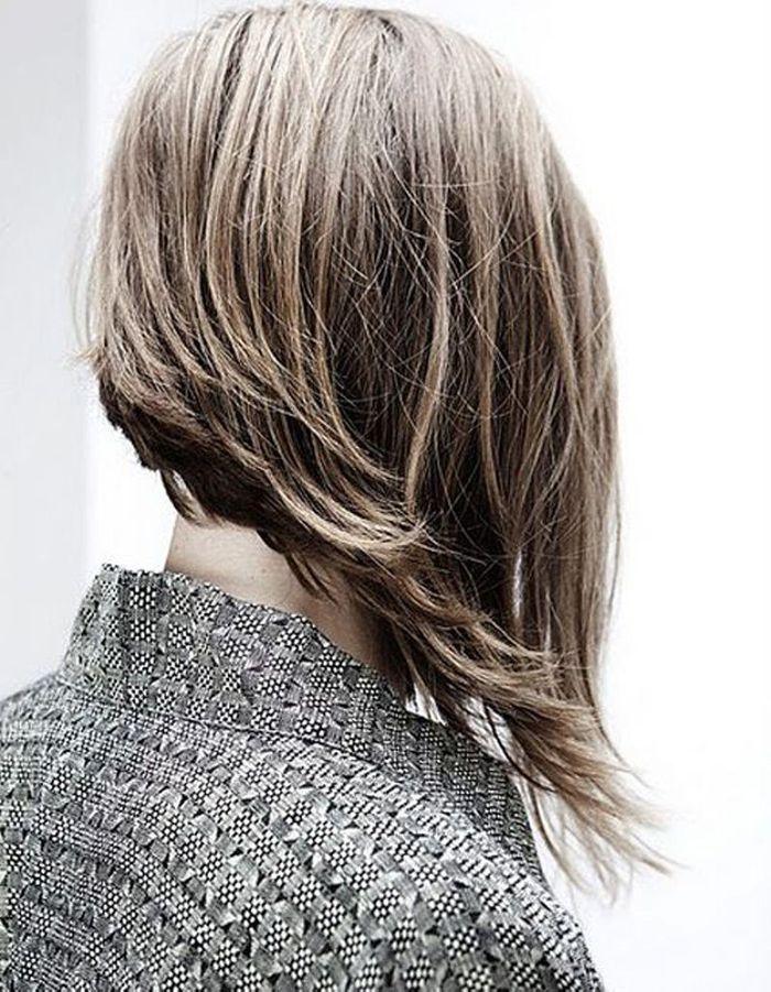 coupe cheveux carre plongeant destructure
