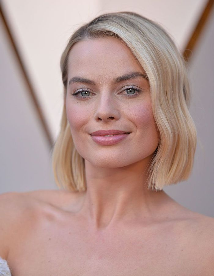 Le carré court wavy de Margot Robbie