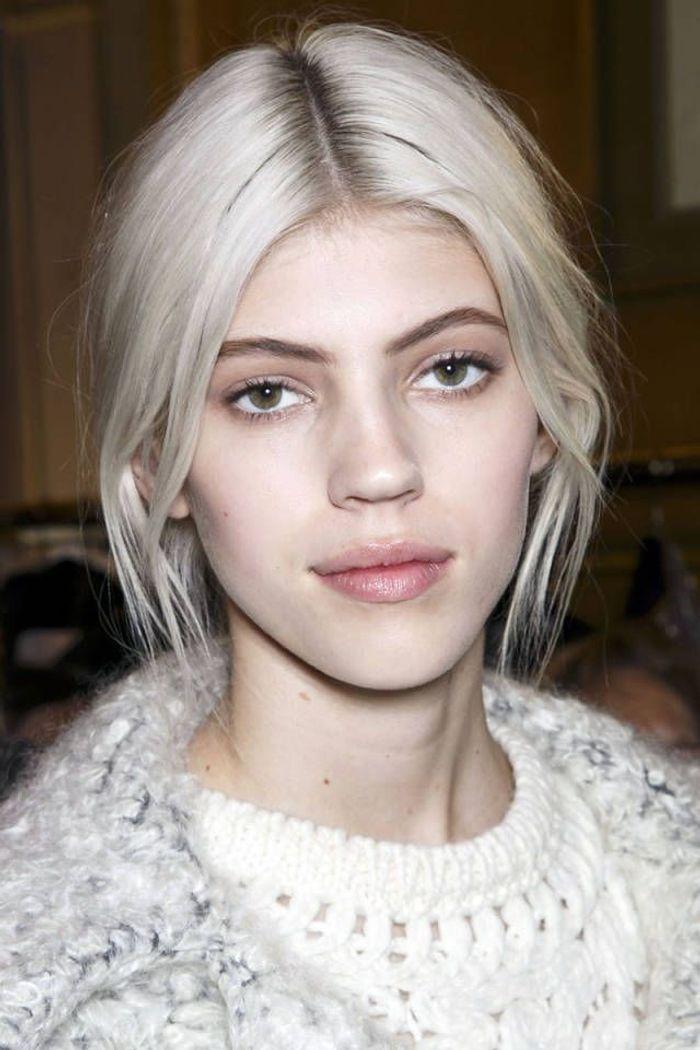 cheveux blancs teinture 25 jolies fa ons de porter les cheveux blancs elle. Black Bedroom Furniture Sets. Home Design Ideas