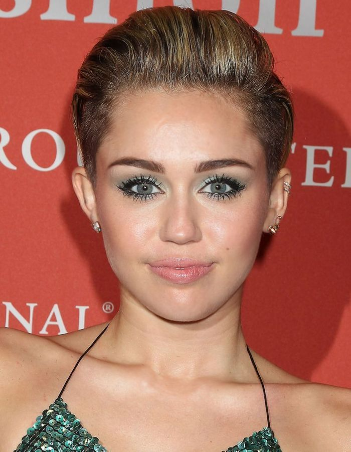 Agree with Miley cirus asian eyes