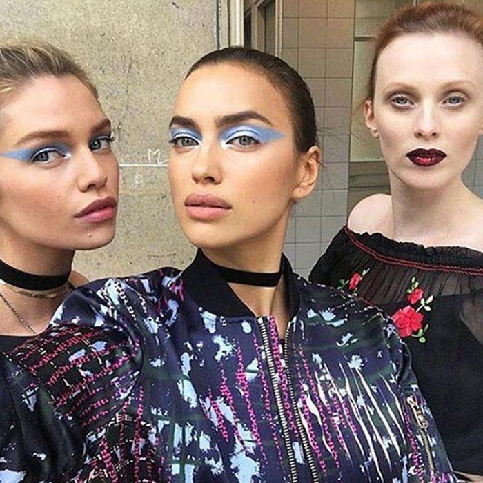 Le make-up du défilé Versace signé Pat McGrath