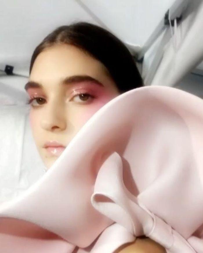 Les fards rose bonbon de Pat McGrath pour Valentino