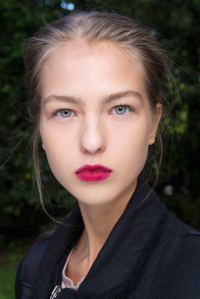 Maquillage sexy : la bouche marquée
