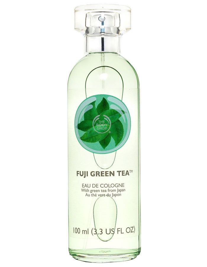 eau de cologne fuji green tea the body shop 100 ml 17 cher pas cher les produits. Black Bedroom Furniture Sets. Home Design Ideas