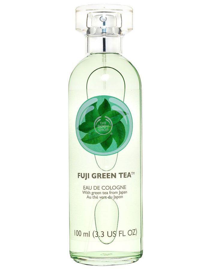 eau de cologne fuji green tea the body shop 100 ml 17 cher pas cher les produits. Black Bedroom Furniture Sets. Home Design Ideas
