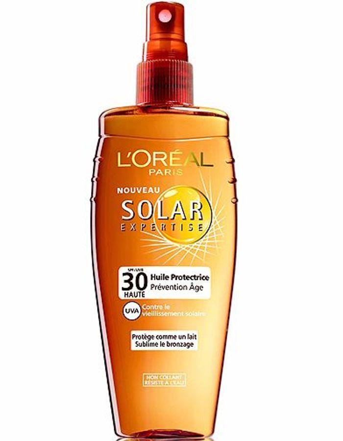 Beaute soin protection soleil creme solaire loreal solaires l ombre des indices anti uv elle - Creme anti coup de soleil ...
