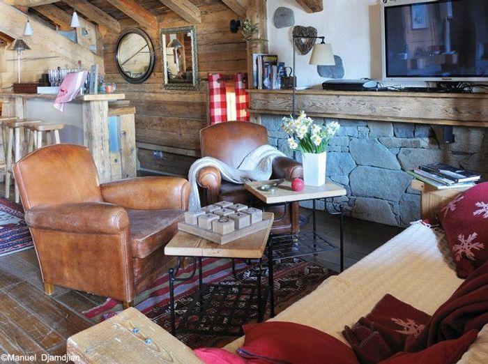 ambiance cosy au chalet elle d coration. Black Bedroom Furniture Sets. Home Design Ideas