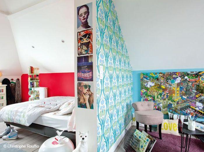 chambre d 39 enfants chacun son style d co elle d coration. Black Bedroom Furniture Sets. Home Design Ideas