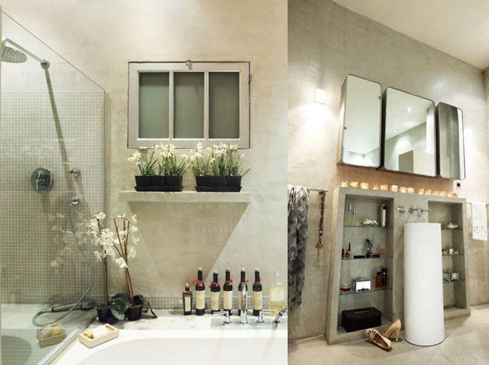 Des rangements malins dans la salle de bains  Elle Décoration
