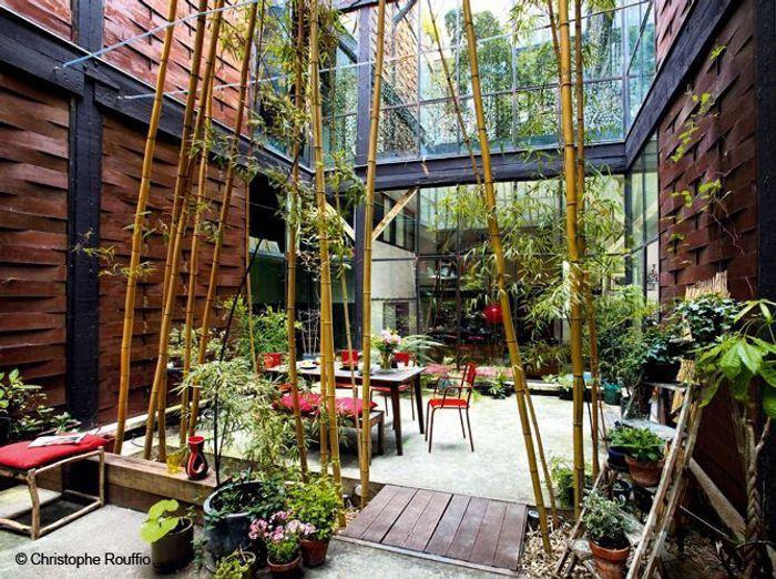 Les bonnes astuces pour d corer un patio elle d coration for Jardin interieur appartement