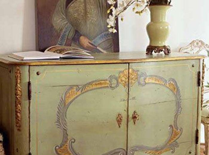 Meubles peints un style revisit elle d coration - Photos de meubles repeints ...