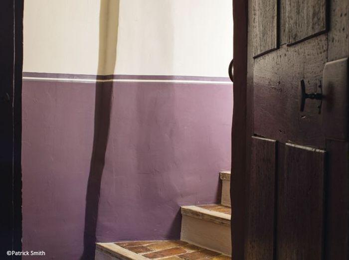 Peinture colo misez sur les enduits naturels elle d coration - Conseil peinture mur 2 couleurs ...