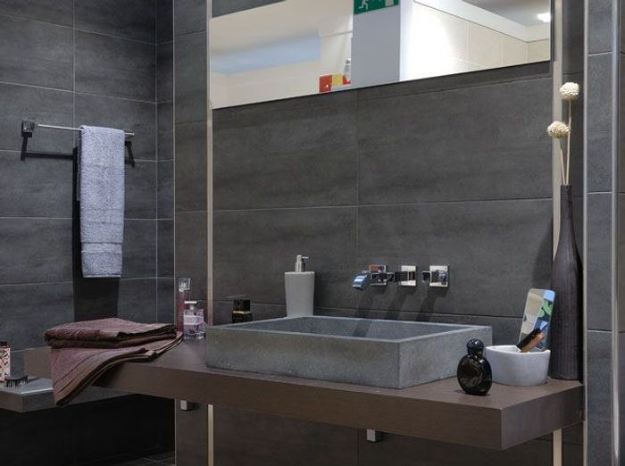 Stunning Carrelage Salle De Bain Gris Taupe Gallery - Home ...
