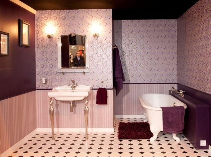 Salles de bains les tendances 2010 elle d coration for Arredamento stile inglese bianco