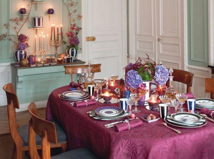 Tables de f tes de belles id es pour recevoir elle d coration - Table de fetes decoration ...