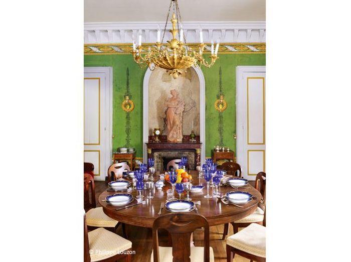 Salle a manger baroque