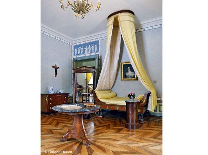 Chambre baroque chateau de