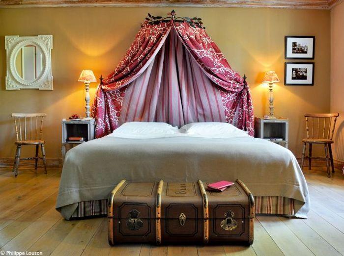Un hôtel et des chambres d'hôtes