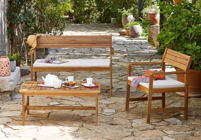 Salon de jardin pas cher notre s lection de meubles for Alinea meuble de jardin