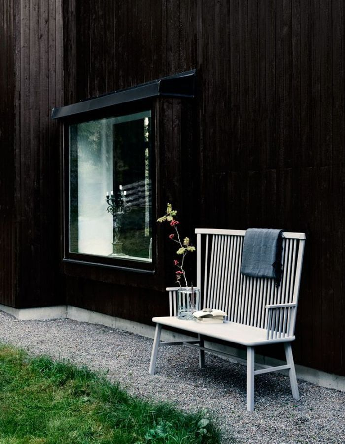 Placez un banc à l'abri des regards indiscrêts dans le jardin