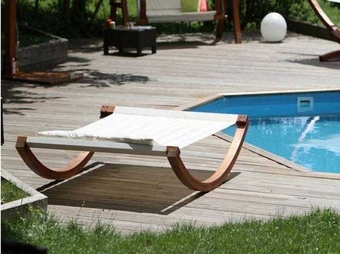 Quelle chaise longue pour mon jardin elle d coration for Chaise longue deux personnes