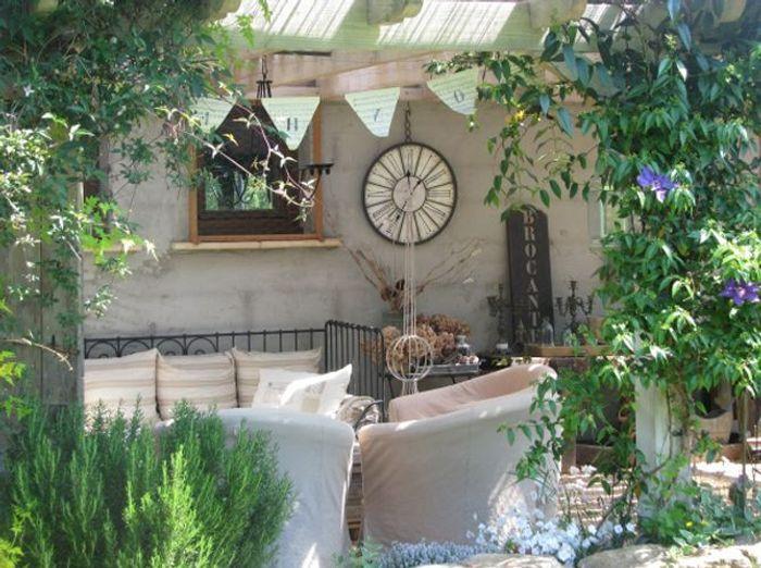 les plus beaux coins terrasse de nos internautes elle d coration. Black Bedroom Furniture Sets. Home Design Ideas