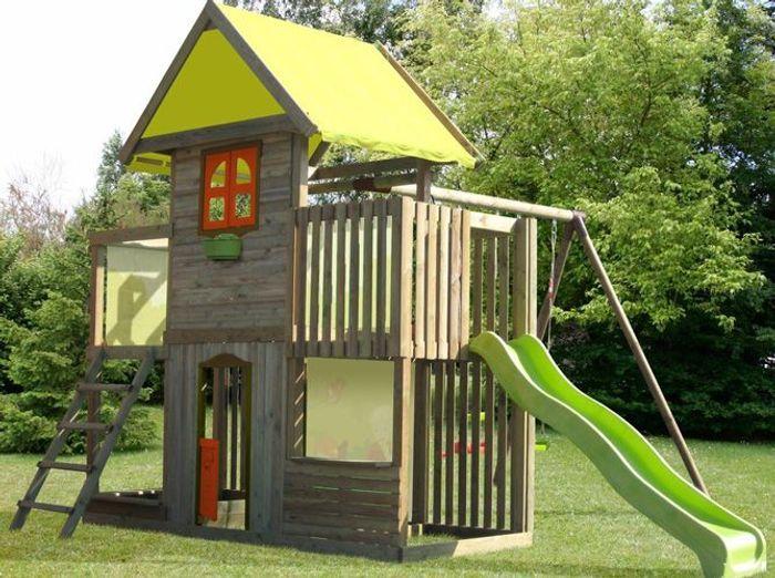 enfants jeux de jardin pour s 39 amuser elle d coration. Black Bedroom Furniture Sets. Home Design Ideas