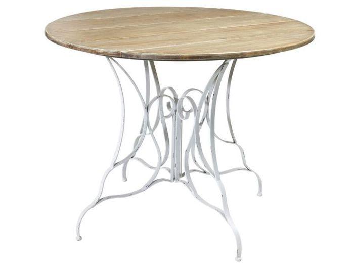 fer forg la touche r tro de votre mobilier de jardin elle d coration. Black Bedroom Furniture Sets. Home Design Ideas