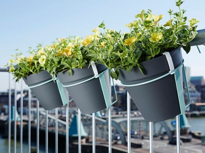 La Jardinière Qui Égaiera Votre Balcon - Elle Décoration
