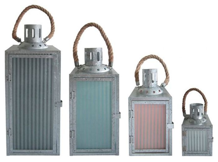 Lanternes et photophores éclairent votre jardin - Elle Décoration