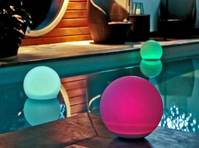 Globes solaires lumineux becquet