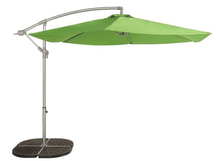 Latest parasol deporte vert castorama with table et banc for Table exterieur vima