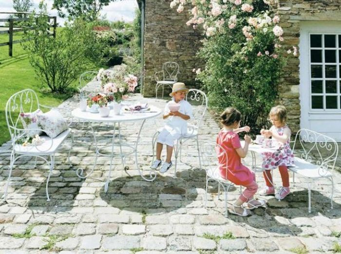 Youhou un coin jardin réservé aux enfants !