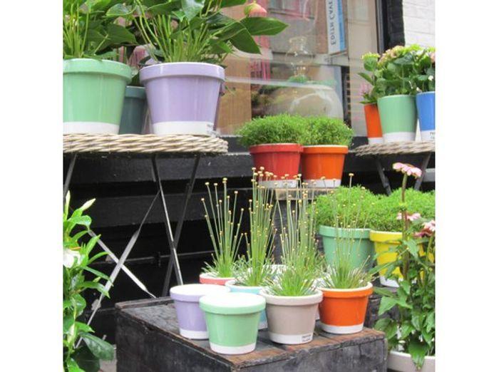 Pots et jardinières habillent la terrasse et le jardin - Elle ...