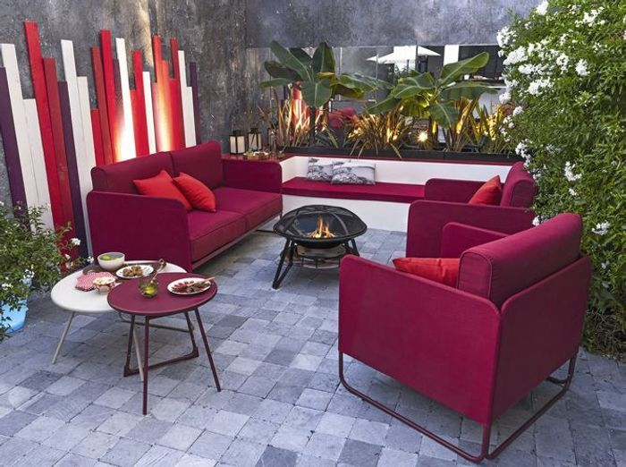 Awesome Salon De Jardin Louisiana Rond Bronze Grosfillex Ideas ...