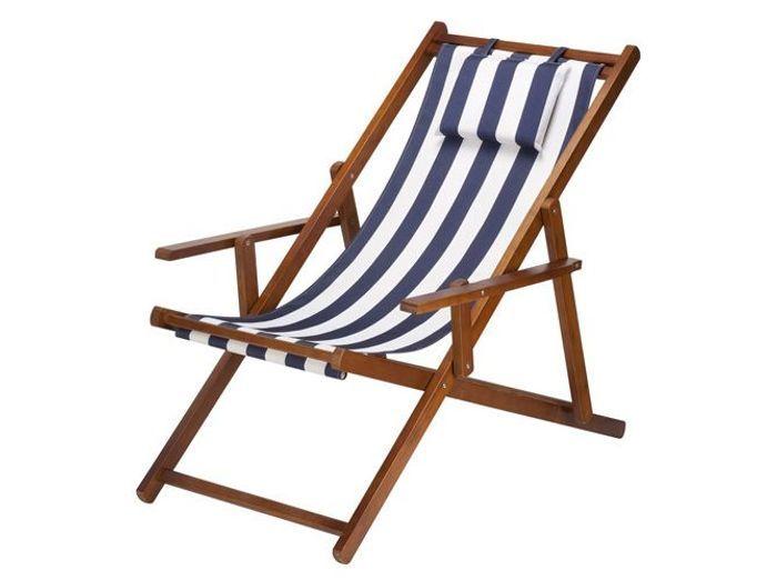 La sieste au jardin a fait du bien elle d coration for Chaise longue en toile