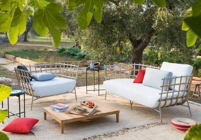 Un salon de jardin design Unopiu