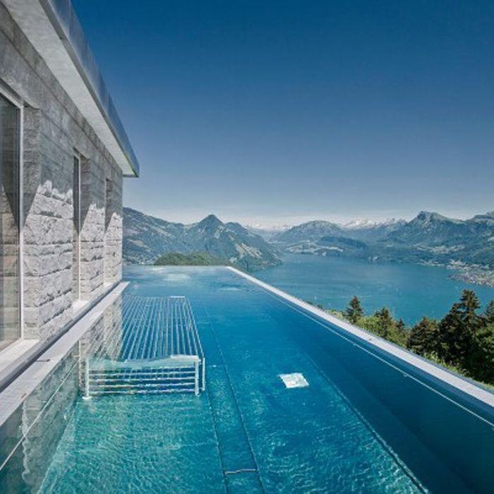 Les piscines de r ve de notre t sur pinterest elle - Hotel var avec piscine ...