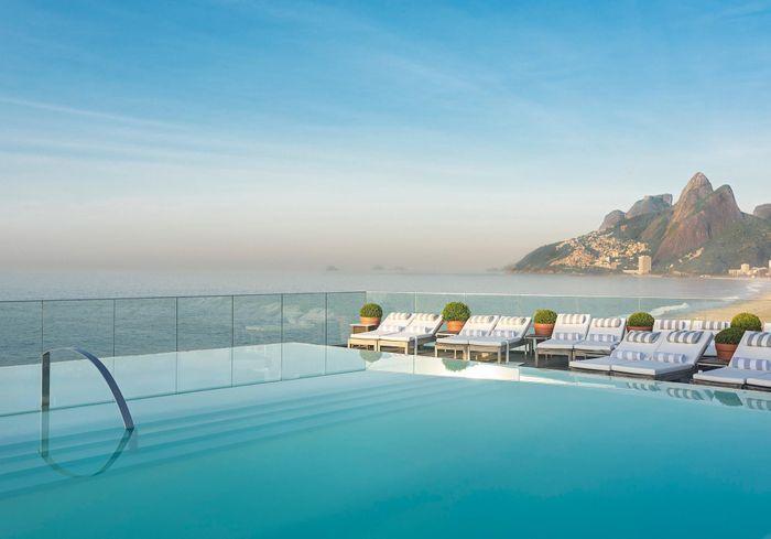 Les plus belles piscines d h tels du monde pour r ver for Piscine d hotel